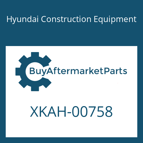Hyundai Construction Equipment XKAH-00758 - O-RING