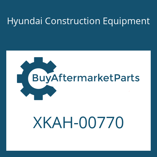 Hyundai Construction Equipment XKAH-00770 - BOLT-SOCKET