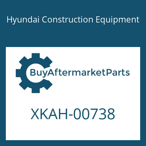 Hyundai Construction Equipment XKAH-00738 - SPRING