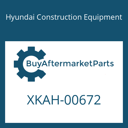 Hyundai Construction Equipment XKAH-00672 - PLUNGER