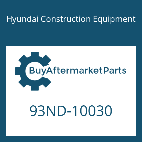 Hyundai Construction Equipment 93ND-10030 - DECAL-MODEL NAME RH