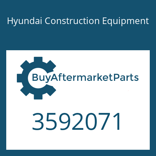 Hyundai Construction Equipment 3592071 - BAFFLE-TURBO