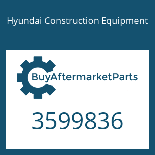 Hyundai Construction Equipment 3599836 - BRACKET