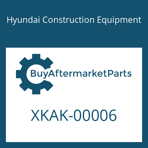 Hyundai Construction Equipment XKAK-00006 - SPRING-LOWER
