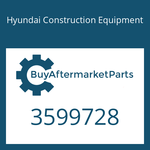 Hyundai Construction Equipment 3599728 - TURBOCHARGER ASSY