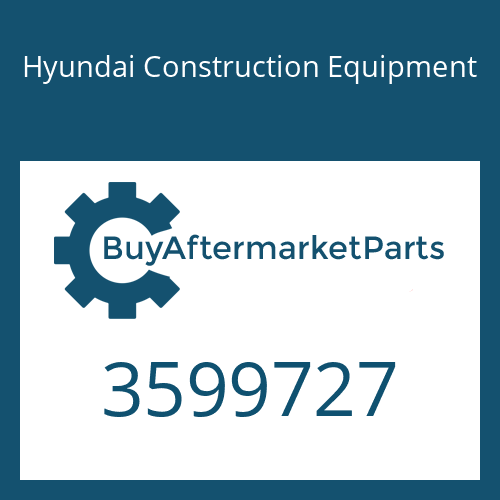 Hyundai Construction Equipment 3599727 - TURBOCHARGER ASSY