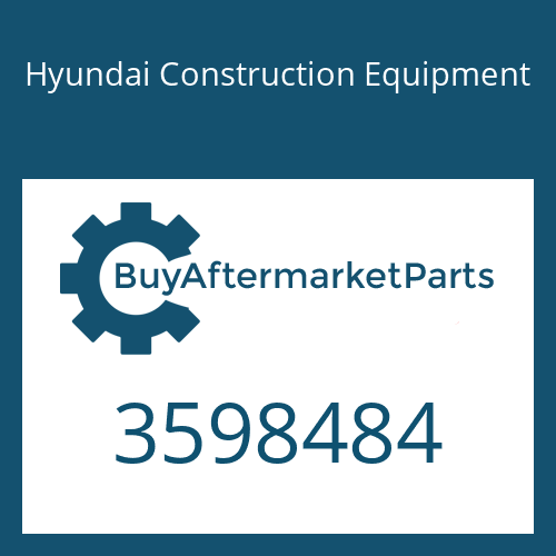 Hyundai Construction Equipment 3598484 - Actuator
