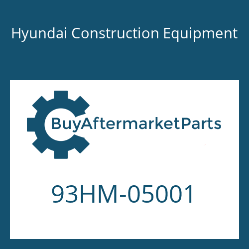 Hyundai Construction Equipment 93HM-05001 - DECAL-CAPACITY