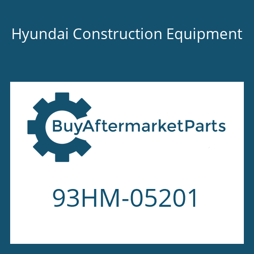 Hyundai Construction Equipment 93HM-05201 - DECAL-CAPACITY