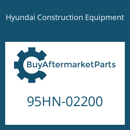 Hyundai Construction Equipment 95HN-02200 - DECAL-MODEL NAME