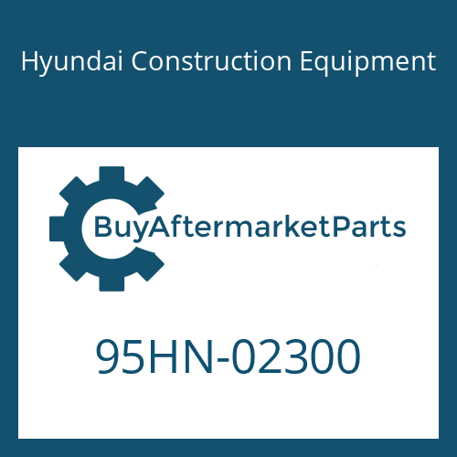 Hyundai Construction Equipment 95HN-02300 - DECAL-MODEL NAME