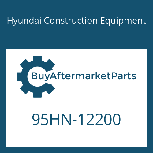 Hyundai Construction Equipment 95HN-12200 - DECAL-MODEL NAME