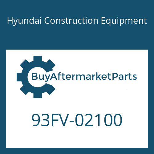 Hyundai Construction Equipment 93FV-02100 - DECAL-MODEL NAME