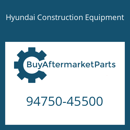 Hyundai Construction Equipment 94750-45500 - Switch-Oil Pressure