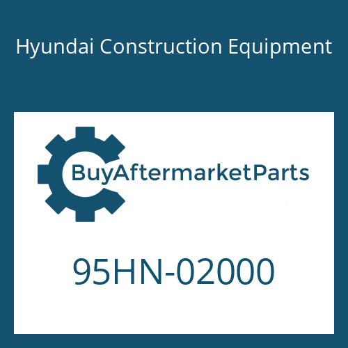 Hyundai Construction Equipment 95HN-02000 - DECAL-MODEL NAME