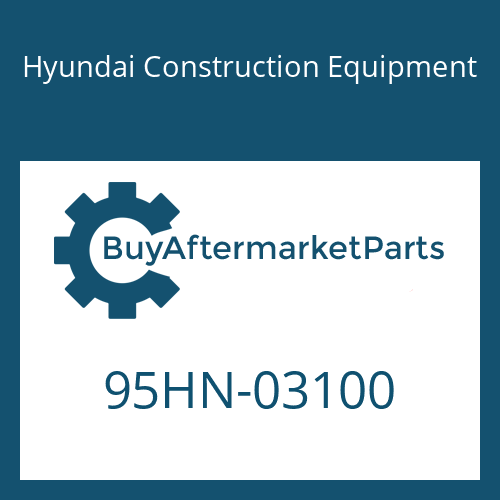 Hyundai Construction Equipment 95HN-03100 - DECAL-EQUIP SPEC