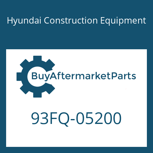 Hyundai Construction Equipment 93FQ-05200 - DECAL-CAPACITY