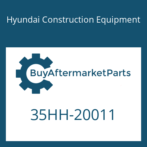 Hyundai Construction Equipment 35HH-20011 - PIPE ASSY-HYD