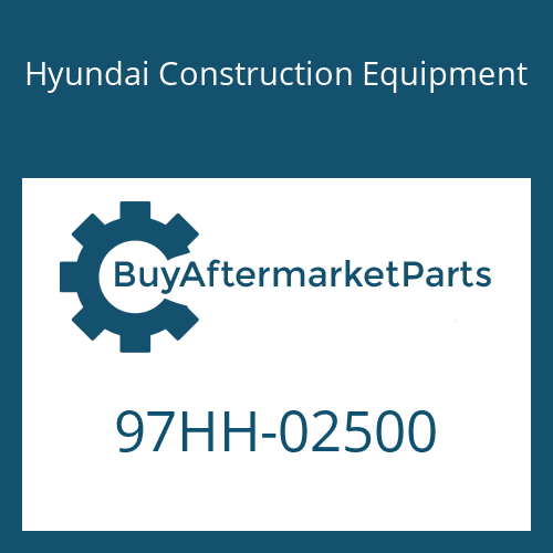 Hyundai Construction Equipment 97HH-02500 - DECAL-MODEL NAME