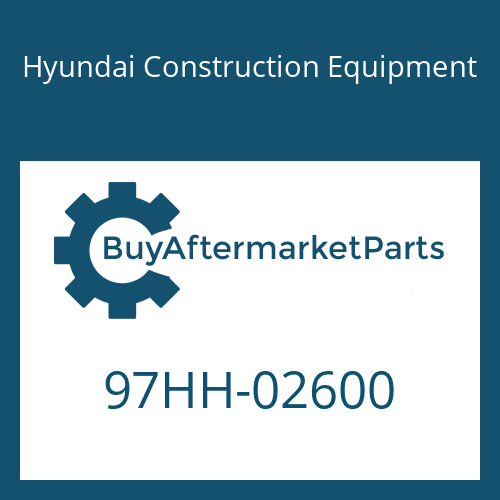 Hyundai Construction Equipment 97HH-02600 - DECAL-MODEL NAME