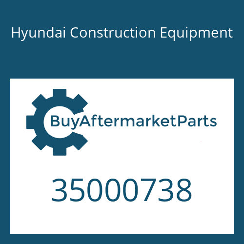 Hyundai Construction Equipment 35000738 - Bolt