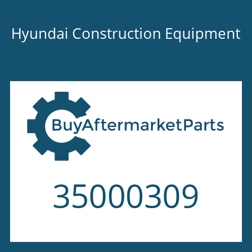 Hyundai Construction Equipment 35000309 - Washer
