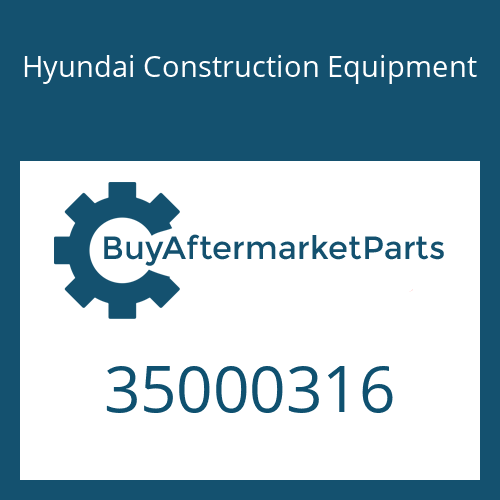 Hyundai Construction Equipment 35000316 - Washer