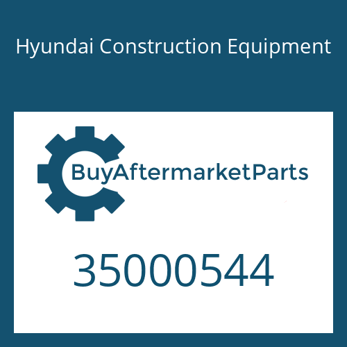 Hyundai Construction Equipment 35000544 - Bolt