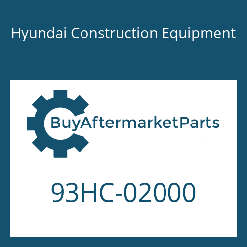 Hyundai Construction Equipment 93HC-02000 - DECAL-MODEL NAME
