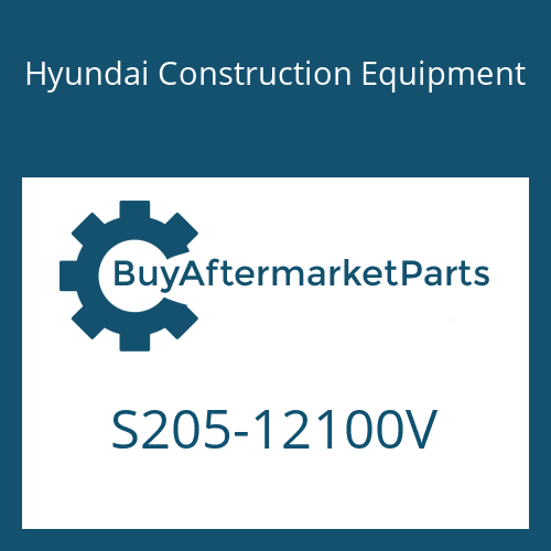 Hyundai Construction Equipment S205-12100V - NUT-HEX