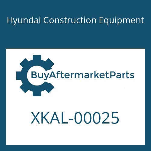 Hyundai Construction Equipment XKAL-00025 - RING-BACKUP