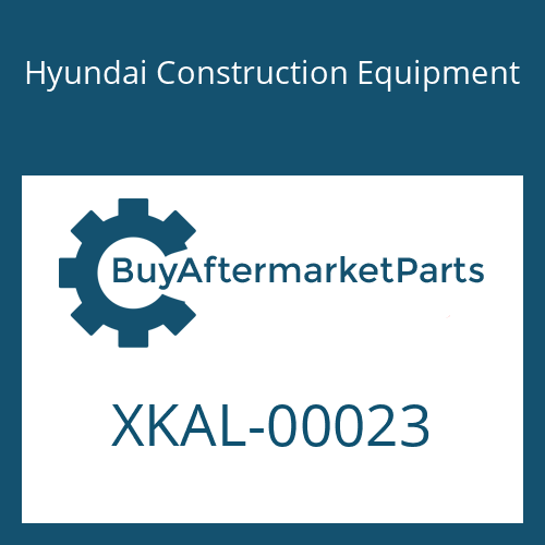 Hyundai Construction Equipment XKAL-00023 - RING-BACKUP
