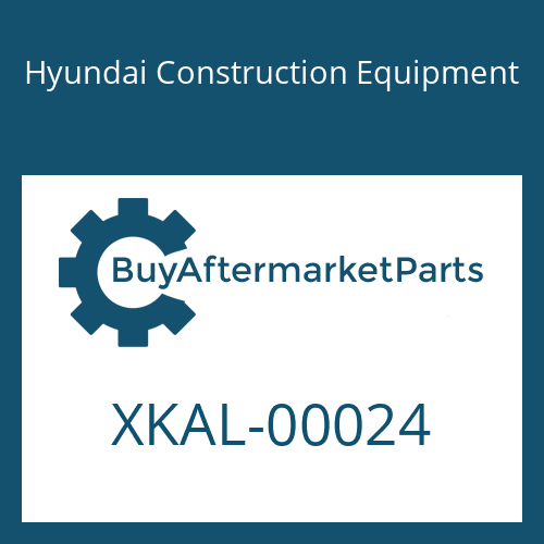 Hyundai Construction Equipment XKAL-00024 - O-RING
