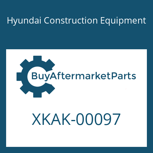 Hyundai Construction Equipment XKAK-00097 - PLUG