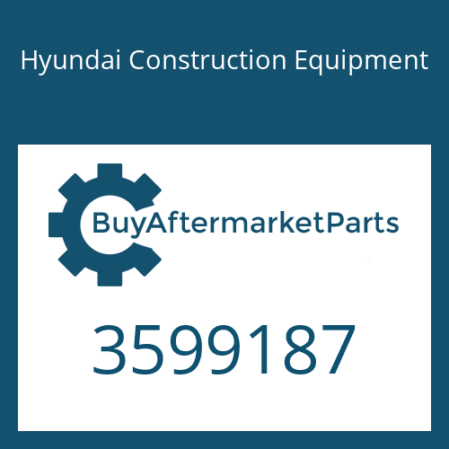 Hyundai Construction Equipment 3599187 - PLUG