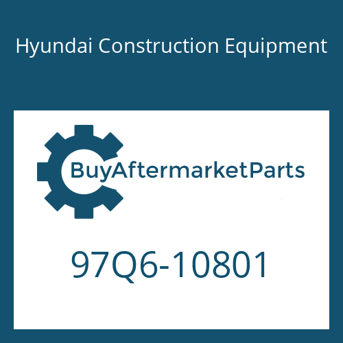 Hyundai Construction Equipment 97Q6-10801 - DECAL-SERVICE INSTRUCTION