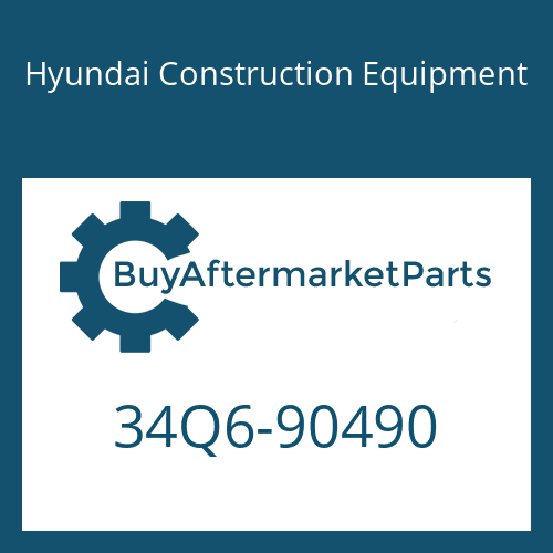 Hyundai Construction Equipment 34Q6-90490 - BRACKET
