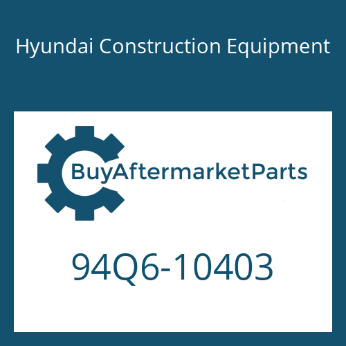 Hyundai Construction Equipment 94Q6-10403 - DECAL KIT-B
