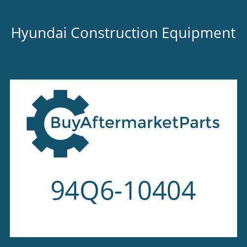 Hyundai Construction Equipment 94Q6-10404 - DECAL KIT-B