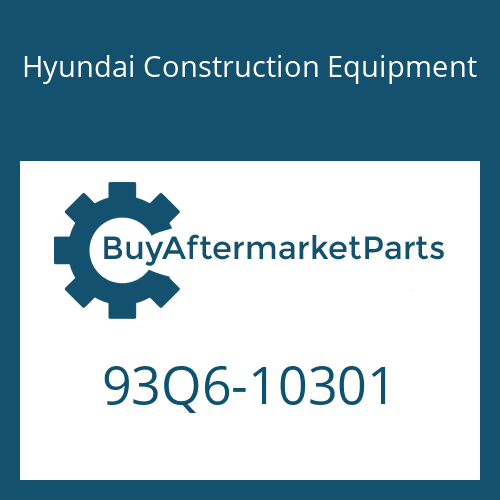 Hyundai Construction Equipment 93Q6-10301 - Decal Kit(B)