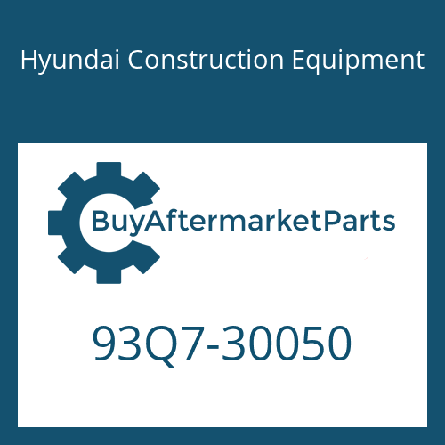 Hyundai Construction Equipment 93Q7-30050 - MANUAL-SERVICE