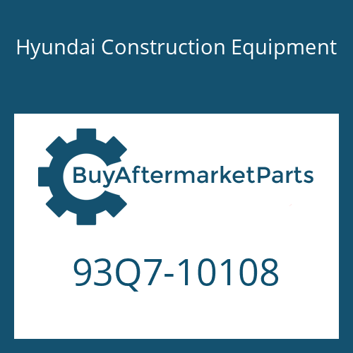 Hyundai Construction Equipment 93Q7-10108 - DECAL KIT-B