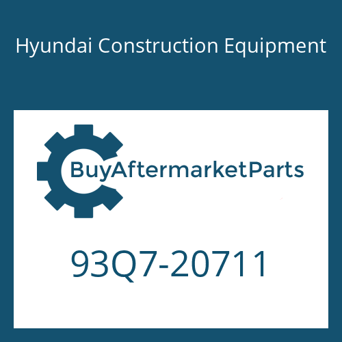 Hyundai Construction Equipment 93Q7-20711 - DECAL-SERVICE INSTRUCTION