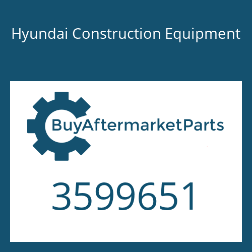 Hyundai Construction Equipment 3599651 - IMPELLER-TURBO