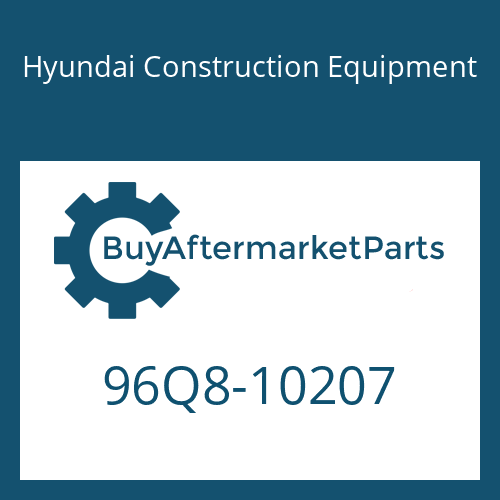Hyundai Construction Equipment 96Q8-10207 - DECAL KIT-B