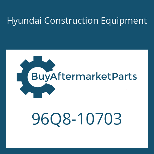 Hyundai Construction Equipment 96Q8-10703 - DECAL-INSTRUCTION