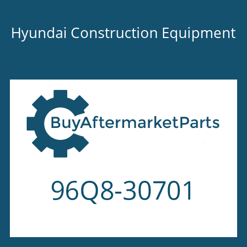 Hyundai Construction Equipment 96Q8-30701 - DECAL-INSTRUCTION