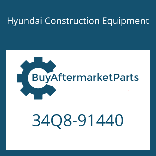 Hyundai Construction Equipment 34Q8-91440 - PIPING KIT-HYD