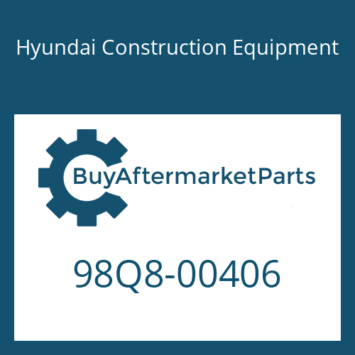 Hyundai Construction Equipment 98Q8-00406 - DECAL KIT-B
