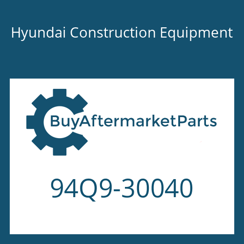 Hyundai Construction Equipment 94Q9-30040 - MANUAL-OPERATOR